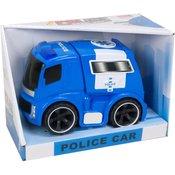 Policijsko vozilo sa svetlom i zvukom 17x24cm 77849