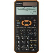 Sharp Šolski kalkulator Sharp EL-W531 XG Oranžna Zaslon (postavitev): 12 Na sončno energijo, Baterijsko (Š x V x G) 79.6 x 15.5 x 161.