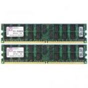 2 x 4GB DDR2 Kingston PC667 KTD-PE6950/8...