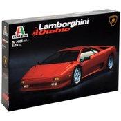 Italeri Italeri 510003685 Lamborghini Diablo Model automobila za sastavljanje 1:24