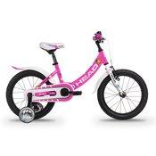 Head JUNIOR 16, otroško kolo, roza