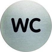 DURABLE piktogram WC fi 83mm (4907)