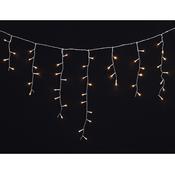 VIDAXL božično novoletne lučke (ledene sveče), 3.9m