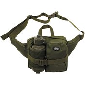 Waist Bag with Drinking Bottle , OD green