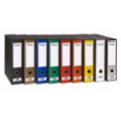 FORNAX registrator Prestige A4/80 v škatli, srebrn, 11 kosov