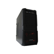 LC ohišje ATX MIDI PRO-923B - RED CAPTOR USB3