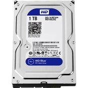 Trdi disk 1TB WD Blue, WD10EZRZ, SATA3, 64MB cache, 5400okr./min, 3.5, za desktop