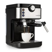 Klarstein BellaVita Espresso, aparat za kavu, 20 bara, 1575 W, 900 ml, srebrni