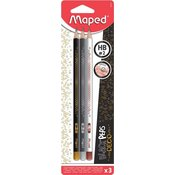 Maped grafični svinčnik Deco HB 3/1 Blister