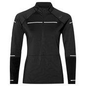 Asics LITESHOW LS WINTER, ženska majica za trčanje, crna