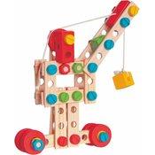 Woody montažni komplet Konstruktor, 130 komada
