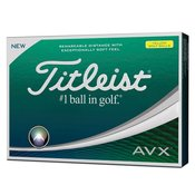 Titleist AVX Golf Balls Yellow 12 pack