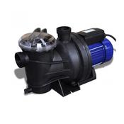 VIDAXL električna črpalka za bazen 1200W, modra