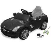 VIDAXL elektricni automobil MERCEDES BENZ SLS AMG crni