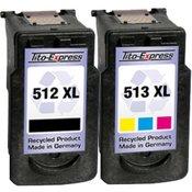 Set kompatibilnih kartuš za Canon PG-512 XL IN CL-513 XL