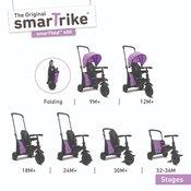 Smart Trike tricikl Folding 400 - Purple