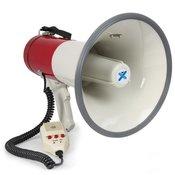 Vexus MEG 050, megafonom, 50W, funkcija snimanja, sirena, mikrofon, kucište za baterije, remen