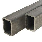 vidaXL Cijevi od konstrukcijskog celika 4 kom pravokutne 2 m 40x30x2mm