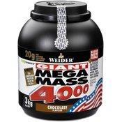Gainer Giant Mega Mass 4000 - Weider 3000 g vanilla