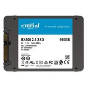SSD 960GB 2.5 SATA3 3D TLC, 7mm, CRUCIAL BX500