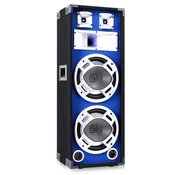 Skytec 800 W DJ PA modri LED dvojni 10 pasivni zvočnik