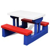 vidaXL Djecji stol sa suncobranom