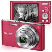 SONY Cyber-Shot DSC-W830 (Pink) Kompaktni, 20.1 Mpix, 2.7, Super HAD CCD