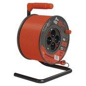 EMOS PVC kolut produžni kabel, 4 uticnice, 25 m, 1,5 mm2