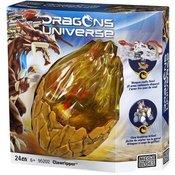 Zmajevo jaje figura za sklapanje Dragons Universe +CD Mega Bloks MB95202