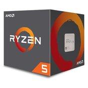 AMD procesor Ryzen 5 1600X 3,6/4,0GHz 16MB AM4 95W WOF (YD160XBCAEWOF)