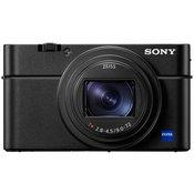 SONY kompaktni fotoaparat DSC-RX100M6, črn