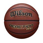 Wilson REACTION PRO, lopta za košarku, braon