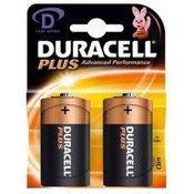 DURACELL alkalne baterije MN1300 D-LR20, 2 kosa