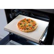Šamotna plošča/kamen za peko pizze ali kruha v električni pečici