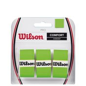 Wilson Grip Pro Overgrip 3 pack - Zeleni