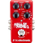 TC HALL OF FAME 2 REVERB GUITAR EFFECTS pedal