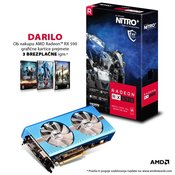 SAPPHIRE grafična kartica NITRO+ Radeon RX 590 8GB Special Edition