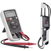 VOLTCRAFT Rucni multimetar digitalni VOLTCRAFT VC175+VC55LCD kalibriran prema: tvornickom standardu CAT III 600 V prikaz (brojenja): 2000