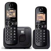 PANASONIC bežicni telefon KX-TGC212FXB CRNI