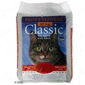 Professional Classic mačji pijesak s mirisom baby pudera - 15 kg
