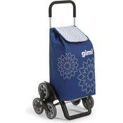 Gimi Tris 56 l Floral torba za kupovinu, plava