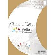 Clairefontaine Papir pollen grain a4 wood 120g 5 listov 40248C