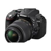 NIKON D-SLR fotoaparat D5300 + OBJEKTIV 18-55 VR CRNI