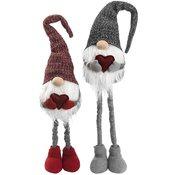 Novogodi?nji ukras Deda Mraz sa podesivim nogama V96cm