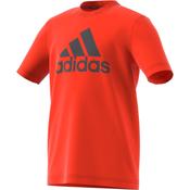 ADIDAS YB MH BOS T, decja majica, narandžasta