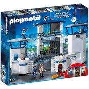 PLAYMOBIL Policijska postaja z zaporom (6919)