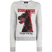 Dsquared2 - The Year of the Dog print sweatshirt - women - Grey