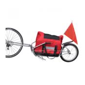 VIDAXL prikolica za bicikle s torbom za pohranu