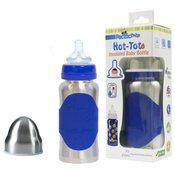 Pacific Baby djecja bocica Hot-Tot, 200 ml, plava srebrna