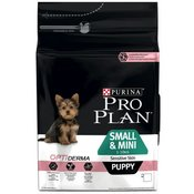 Pro Plan Small Mini Puppy Sensitive Skin losos i riža - 3 kg